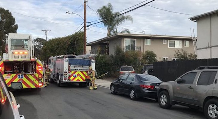 Apartment Fire in Isla Vista title=