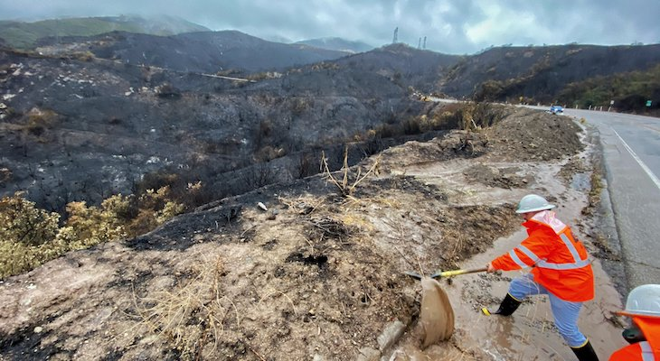 Cave Fire Now 100% Contained