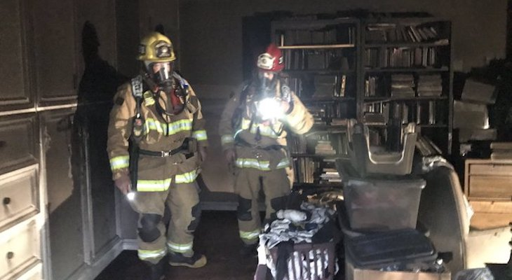 Firefighters Respond to Santa Ynez Structure Fire title=