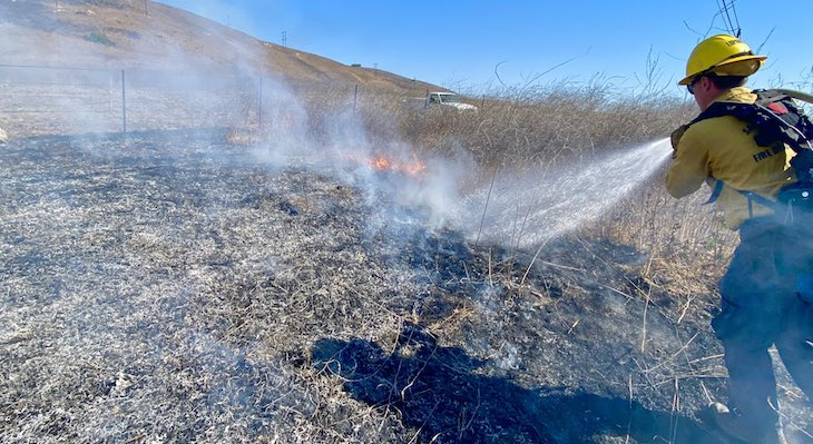 Crews Respond to Brush Fire in Gaviota title=