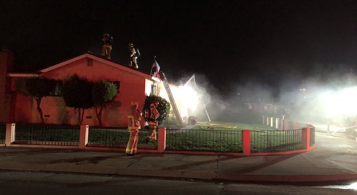 Firefighters Respond to Orcutt House Fire