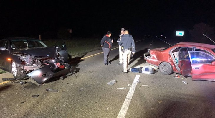 Two Injured in Collision Near Orcutt