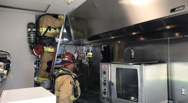Small Fire in Bacara Resort Kitchen
