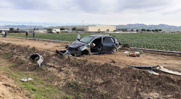 Critical Injury in Santa Maria Vehicle Rollover title=