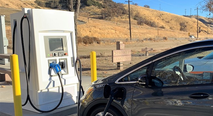 Electric Vehicle Fast Chargers Now Available on Central CA Highways title=