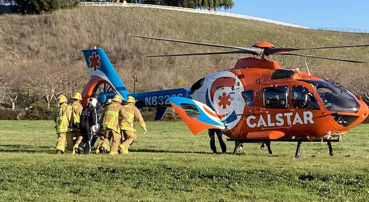 Man Airlifted to Hospital Following Santa Ynez Vehicle Crash title=
