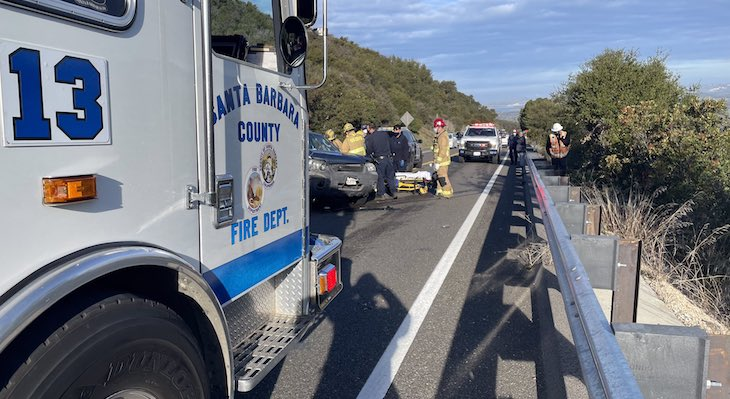 Highway 154 Closed at Cold Spring Bridge Due to Collision title=