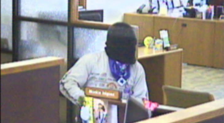 FBI Searches for Santa Maria Bank Robbery Suspect