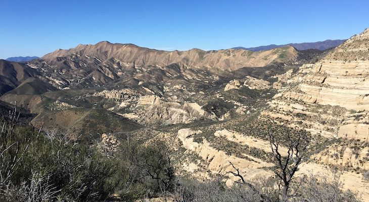 Distressed Hiker Helicoptered Out of Los Padres National Forest