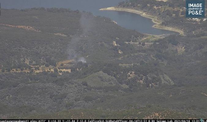 Controlled Burn Escaped the Lines near Lake Cachuma title=