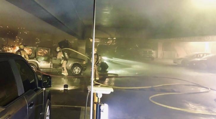 Vehicle Fire at Chumash Casino title=