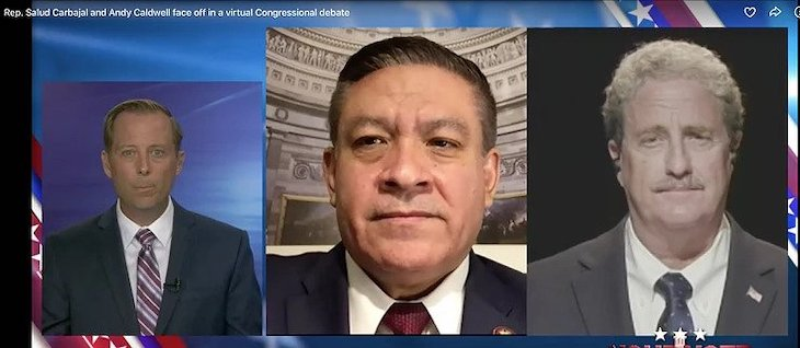 TV Debate: Carbajal and Caldwell Clash on...Well, Everything title=