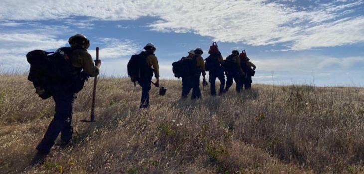 Santa Cruz Island Brush Fire 90% Contained