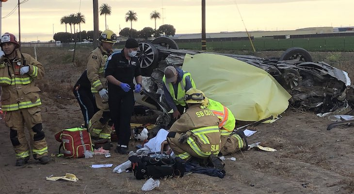 Double Fatal Collision in Santa Maria
