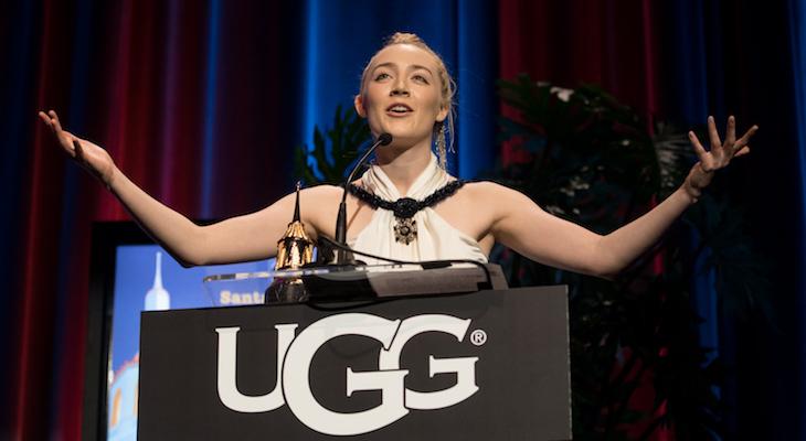 Saoirse Ronan Receives Santa Barbara Award title=