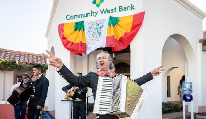 Community West Bank Honors Fiesta title=