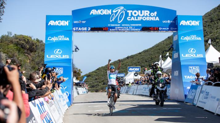 Amgen Tour of California Soars Through Santa Barbara title=