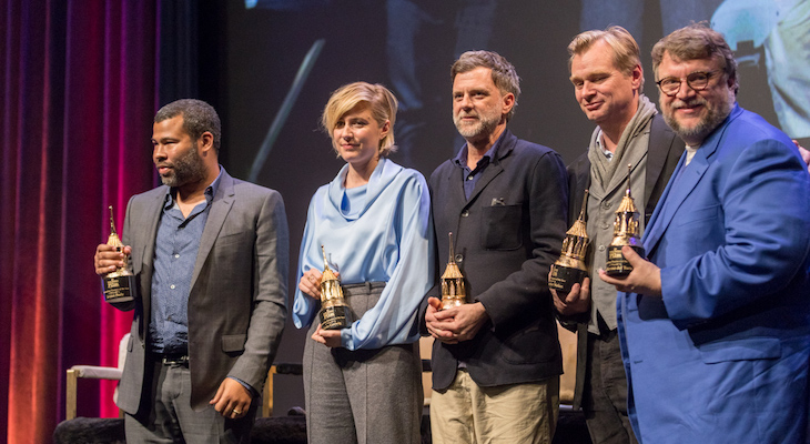Five Acclaimed Directors Receive Awards at the Film Festival title=