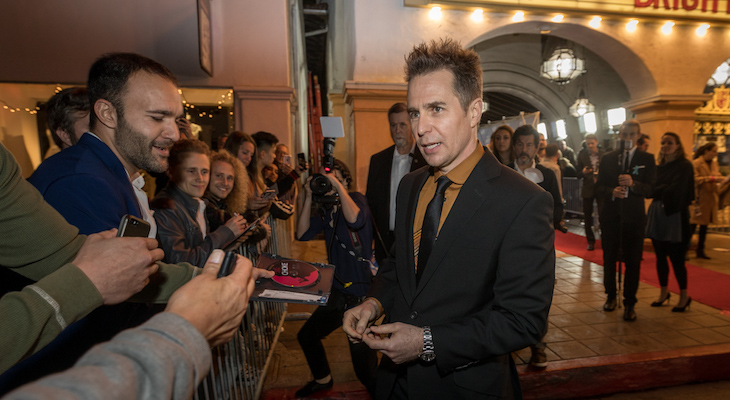 Sam Rockwell Receives American Riviera Award title=