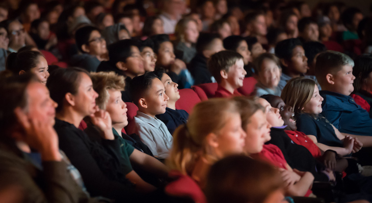 Thousands of Local Students Enjoy Free Film Screening title=