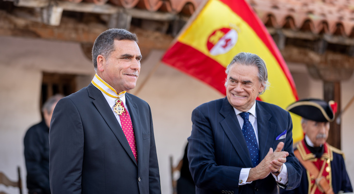 David Bolton Receives Spanish Knighthood at El Presidio