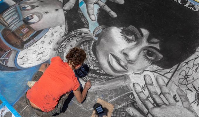 I Madonnari Chalks it Up to Art