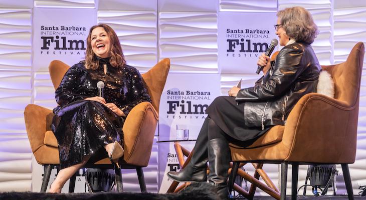 Melissa McCarthy Brings Laughs and Love to Santa Barbara title=
