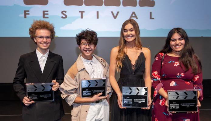 Local Students Win Awards at Film Festival title=