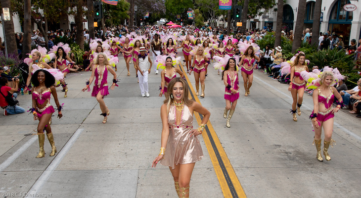 Summer Solstice Parade Honors Heroes and Delights the Crowd