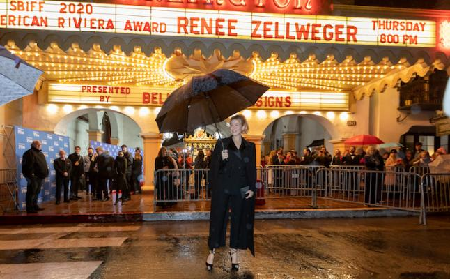 Renee Zellweger Receives American Riviera Award