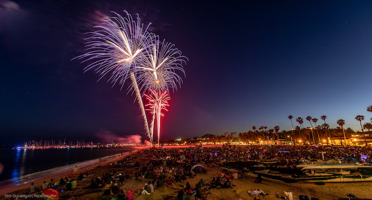 July 4th Parade and Fireworks Highlights