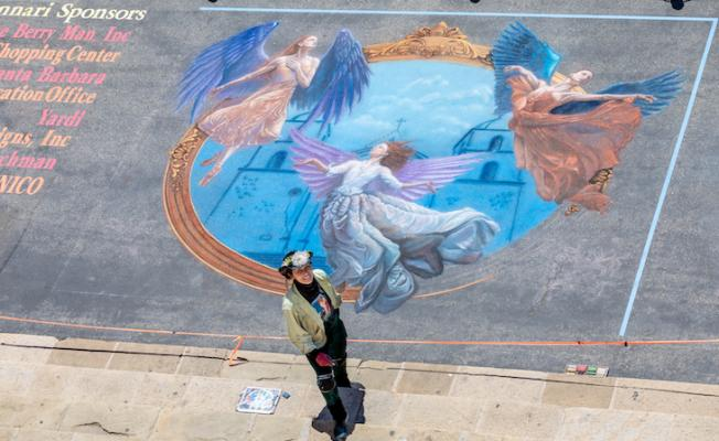 I Madonnari's Featured Artist: Sharyn Chan title=