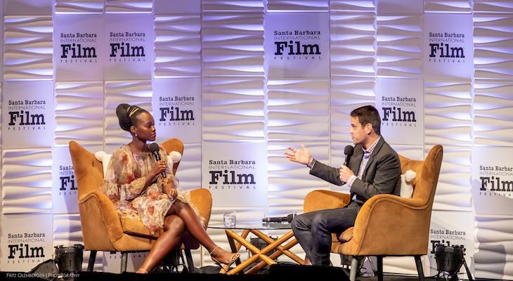Lupita Nyong'o Receives SBIFF Montecito Award
