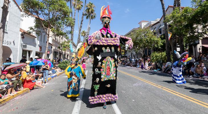 Crowds Adore Fiesta Children's Parade