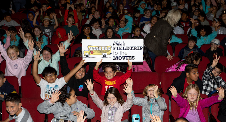 Mike's Movie Field Trip Entertains Students