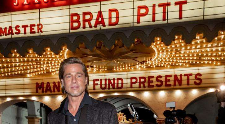 Massive Crowd Greets Brad Pitt at Santa Barbara Film Festival