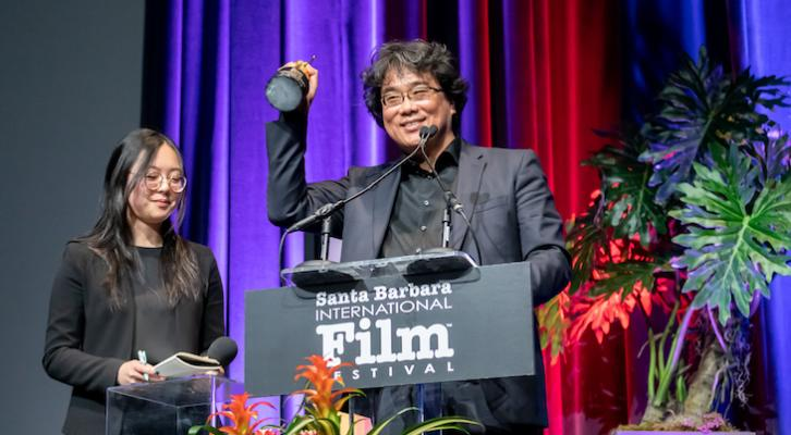 Bong Joon Ho Receives Director of the Year Award