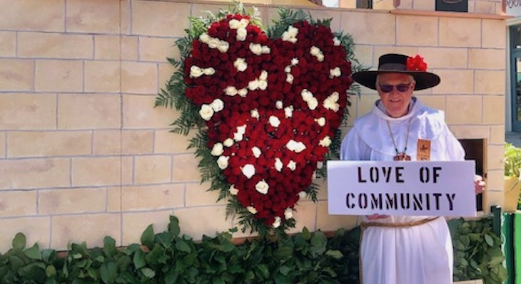 Father Larry Gosselin named Grand Marshal of Reimaged 2020 Fiesta Parade title=