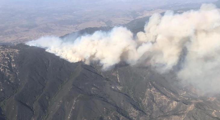 Alisal Fire (Photo: Los Padres National Forest)