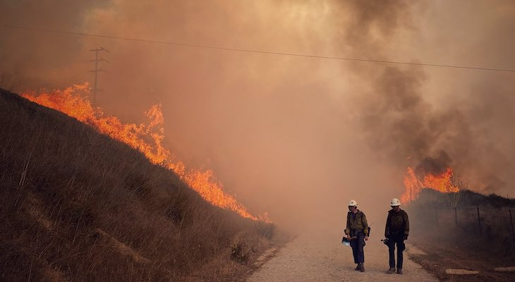 California Secures Federal Assistance to Support Response to Alisal Fire in Santa Barbara County title=