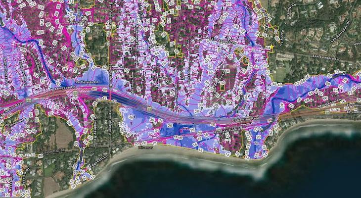 FEMA Advisory Flood Recovery Maps Available