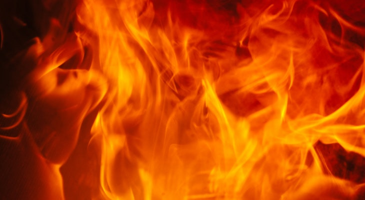 Large Homeless Camp Catches Fire in Goleta