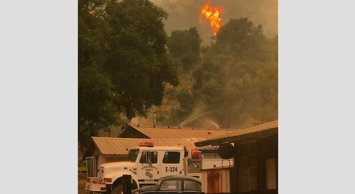 Alamo & Whittier Fires Update