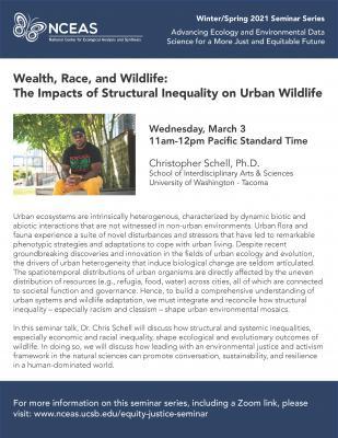 NCEAS Seminar Series : Wealth, Race, and Wildlife title=