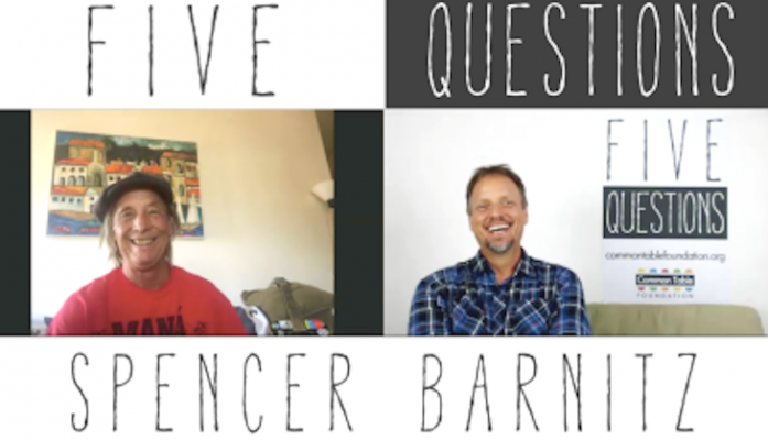 """""""Five Questions"""" Launches with Spencer Barnitz title="""