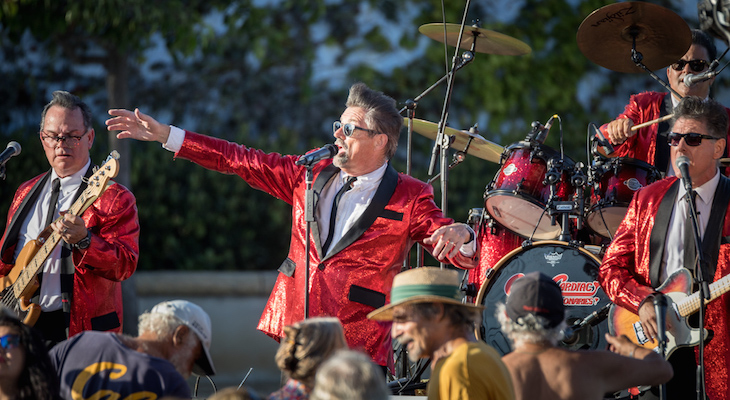 Concerts in the Park: Captain Cardiac and the Coronaries title=