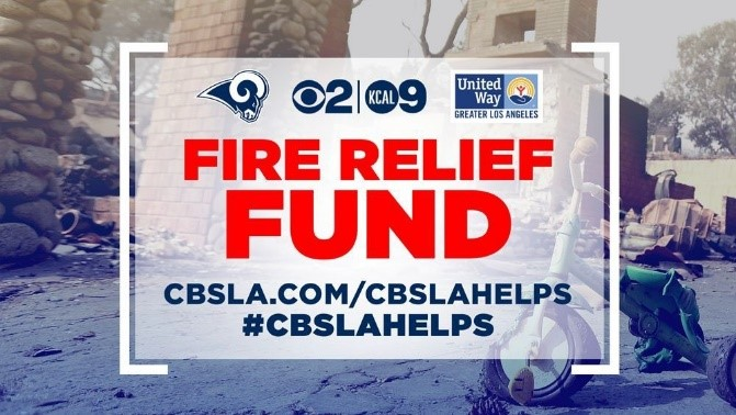 Fundraiser Raises Over 1.1M for United Way So. Cal  Fire Relief Fund