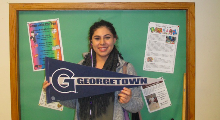 Teen Leader Gets Full Scholarship to Georgetown title=
