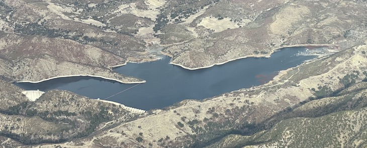 Aerial View of Gibraltar Reservoir