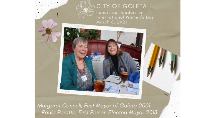 Goleta Recognizes Influential Women on International Women's Day title=